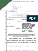 Liberi v Taitz Plaintiffs Reply to Taitz Opp Doc 199