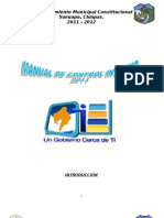Manual de Control Interno 2011