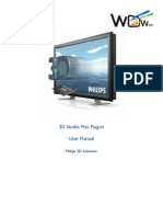 3ds Max Plug-In User Manual Englisch