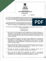 Resolucion No_ 087 de 2 de Mayo de 2011 Adecuacion de to