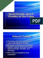 HP Shot Put Training