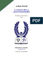 Powell Arthur La Magia de La Masoneria