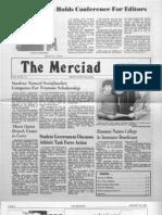 The Merciad, Jan. 30, 1981