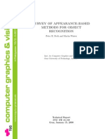 Appearance Based Methods