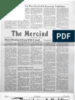 The Merciad, April 3, 1981