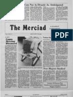 The Merciad, April 10, 1981