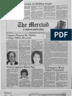 The Merciad, Jan. 28, 1982