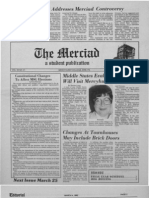 The Merciad, March 4, 1982