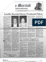 The Merciad, March 25, 1982