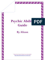 Alizons Psychic Secrets Psychic Ability Guide