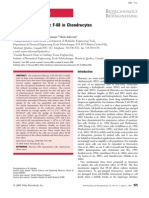 Fate of Pluronic in Cho and Chondrocytes