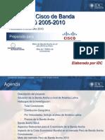 Barómetro Cisco de Banda Ancha en el Perú a diciembre del 2010