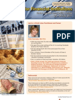 IFRS for Financial Institutions 2011 - Event Programme Cover