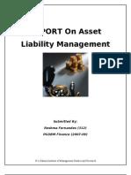 REPORT on Asset Liability Management_Reshma_Fernandes