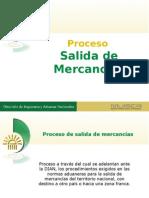 SALIDA DE MERCANCIAS