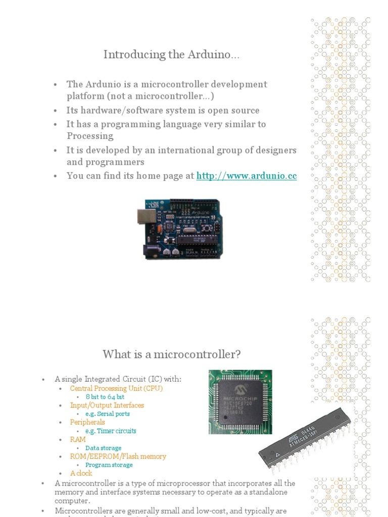 arduino | Microcontroller | Arduino