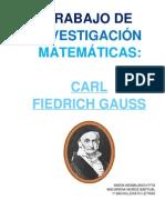 K. F. Gauss. María Momblanch & Macarena Muñoz