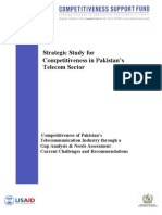 Strategic Study for Competitiveness in Pakistan Telecom Sector