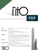 TITO Architects Portfolio 2011