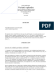 Juan Pablo II 1993 Carta Encíclica Veritatis splendor - ENSEÑANZA MORAL DE LA IGLESIA