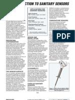 Sanitary Sensor Article