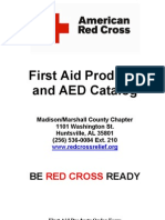 Red Cross Chapter First Aid AED Catalog