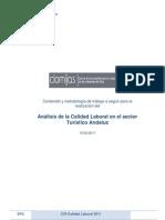 Analisis de la Calidad Laboral en el Sector Turístico Andaluz