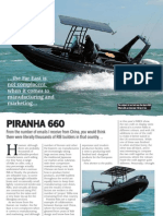 Piranha 6.6m Review