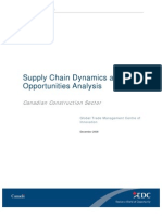 EDC Construction Supply Chain Report