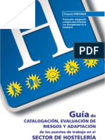 Prevención, integración y empleo para Personas con Discapacidad en la Hostelería