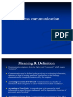Business Communication 1