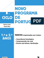 Tarefas Organizadas Por Tema Portugues 1 2 Anos