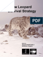 Snow Leopard Survival Strategy