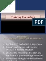 Training Evaluation - PPT 6