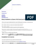 PDF Documentation User Ubuntu
