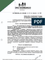 Lei Municipal n 1750 2007 Dispõe sobre a transformação da Companhia Municipal de Saneamento  COMUSA