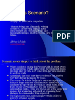 What is Scenario