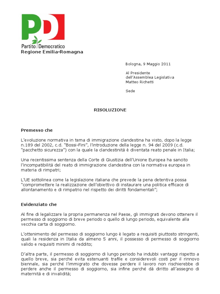Best Requisiti Carta Di Soggiorno Contemporary - Design and Ideas ...