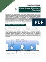 Urban Design Corridors