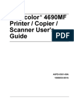 Magi Color 4690 Printer Copier Scanner User Guide