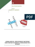 Ruchi Verma Marketing Management Journal Entry 03