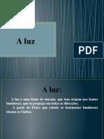 Trabalho de Físico - Química - Propriedades e Aplicações da Luz - Vitor