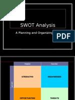 Mrktg Mgt - SWOT Analysis