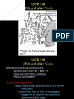 Lecture24 Ufos and Aliens
