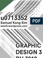 Graphic Design 3 Portfolio
