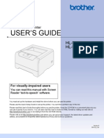 Brother HL-5250DN User Manual