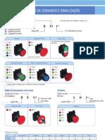 Catálogo de botões e Sinaleiros WEG