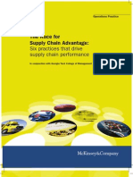 The Race for Supply Chain Advantage