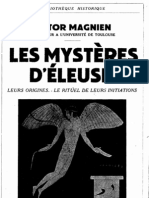 Magnien, V - Les Mysteres d Eleusis