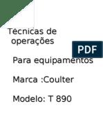 Técnicas de operações T-890